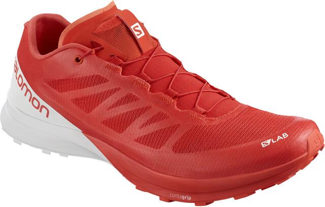 Salomon S/Lab Sense 7 Shoes Racing Röd/Vit/Vit (2019)